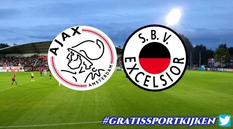 Jong Ajax - Excelsior livestream