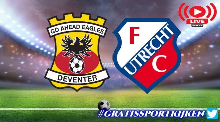 Livestream Go Ahead Eagles - Jong FC Utrecht