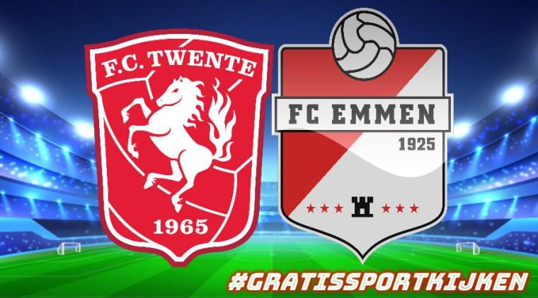 Livestream FC Twente - FC Emmen gratissportkijken.nl