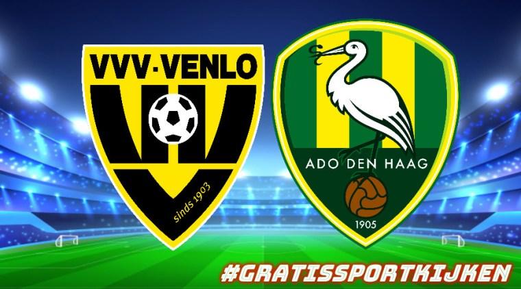Livestream VVV - ADO Den Haag gratissportkijken.nl