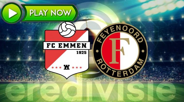 FC Emmen - Feyenoord livestream