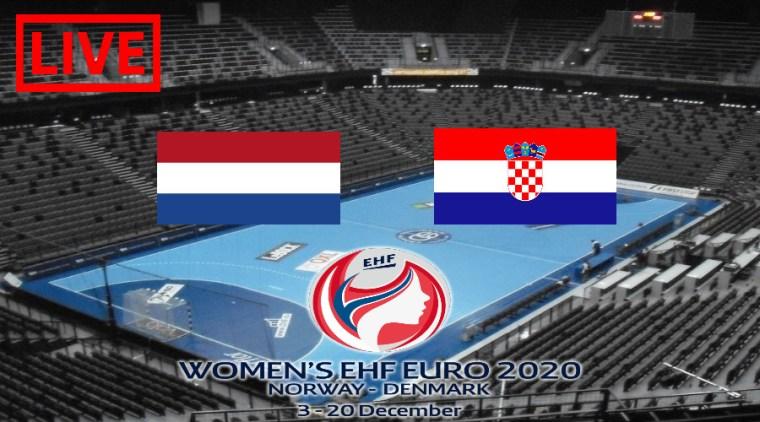Livestream Nederland - Kroatië EK Handbal 2020
