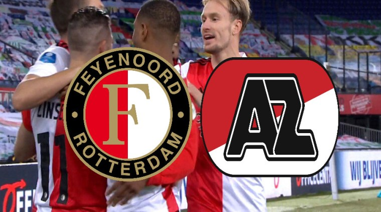 Kijk hier via de gratis livestream Feyenoord - AZ Alkmaar