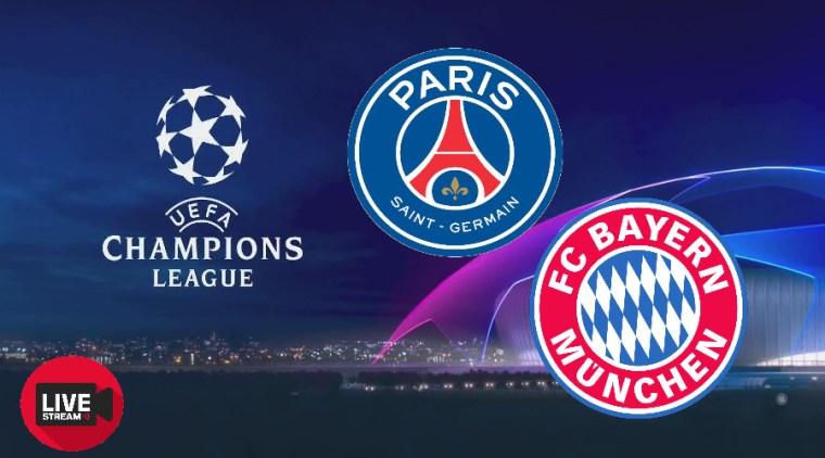 Livestream Paris Saint-Germain - FC Bayern