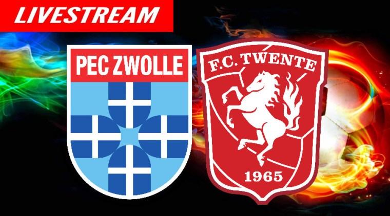 PEC Zwolle - FC Twente voetbal livestream
