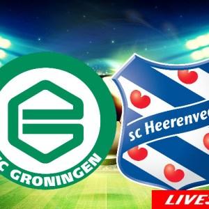 Voetbal livestream FC Groningen - SC Heerenveen