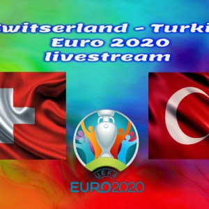 EK Voetbal live stream Zwitserland - Turkije