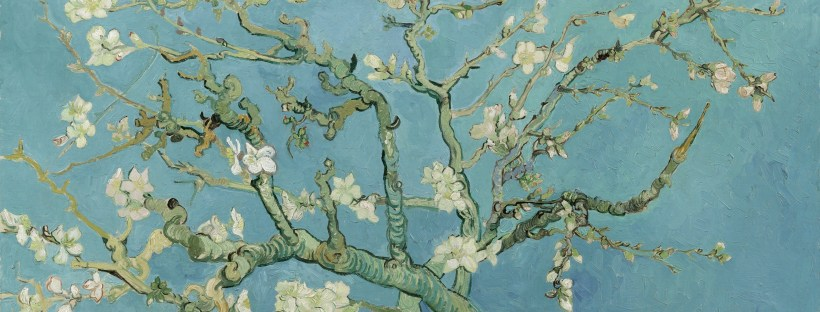 Almond Blossom art by Vincent Van Gogh