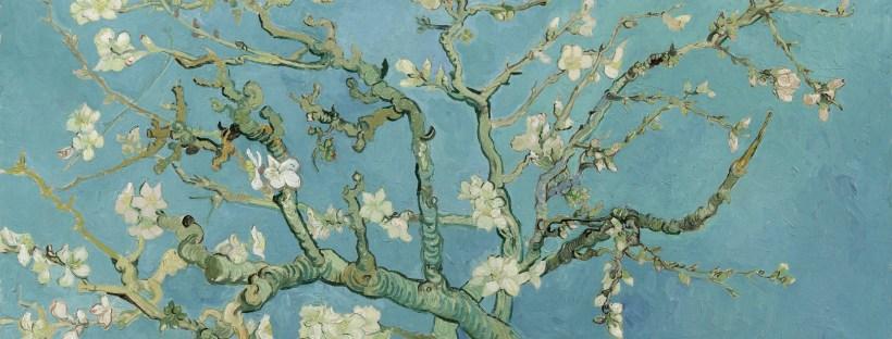 Almond Blossom art by Vincent Van Gogh