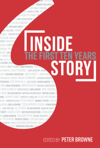 Cover of Inside Story: The First Ten Years, edited by Peter Browne
