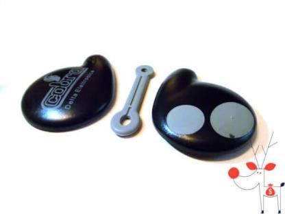 Carcasa cheie auto telecomanda Cobra control alarma, 2 butoane