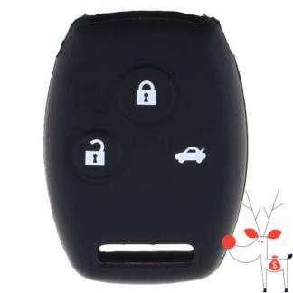 Husa protectie silicon carcasa cheie auto Honda, 3 butoane