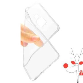 Husa protectie silicon iPhone 6 6S, carcasa transparenta spate telefon