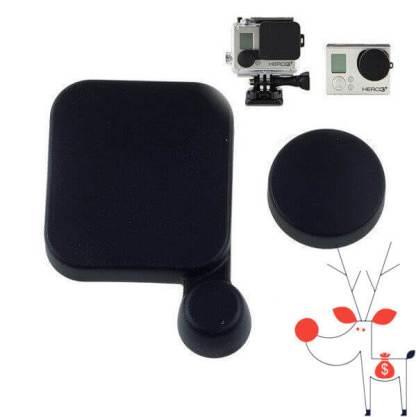 Set capace protectie carcasa lentila obiectiv camera Gopro Hero 3