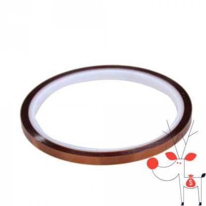 Banda izolatoare adeziva termica, folie termorezistenta, 5mm x 30m