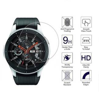 Folie sticla Samsung Galaxy Watch 46mm, Tempered Glass, protectie securizata ecran display