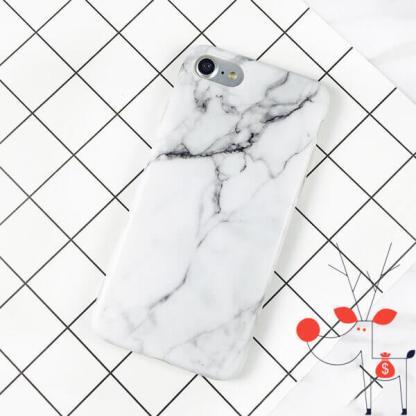 Husa silicon iPhone x, carcasa protectie spate, model desen granit