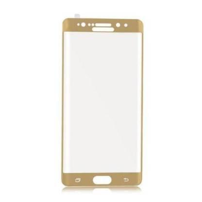 Folie sticla Full Cover 3D Samsung Galaxy Note7, Tempered Glass, protectie ecran display telefon