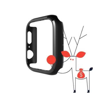Carcasa silicon Apple Watch Series 4 (44mm), husa protectie ceas smart