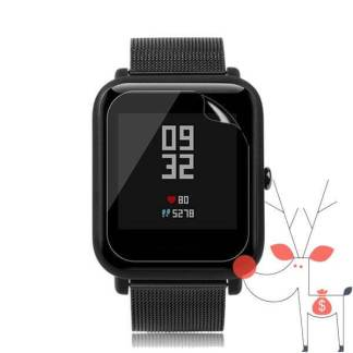 Folie protectie Xiaomi Huami Amazfit Bip Youth, Ultra Film Screen ecran ceas smartwatch