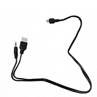 Cablu mini usb la jack 3.5mm tata + usb 2.0 tata