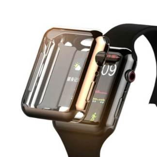 Carcasa Apple Watch 44mm, husa protectie silicon
