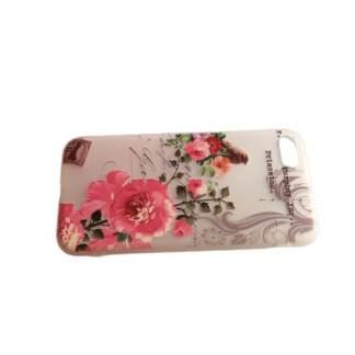 Husa iPhone 7, carcasa protectie silicon spate, model desen