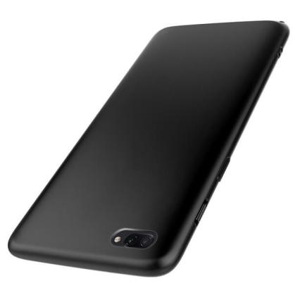 Husa protectie Realme C2, carcasa spate telefon, neagra