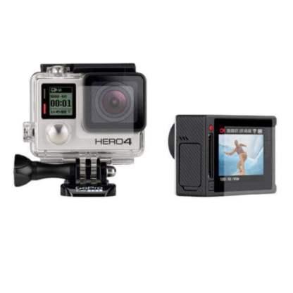 Folie protectie GoPro Hero 4, protectie ecran display