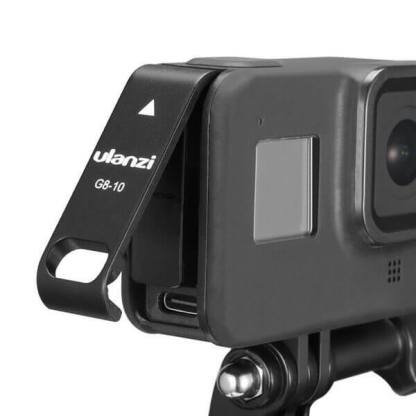 Usa-laterala-baterie-camera-GoPro-Hero-8-slot-incarcare-port-mufa-Tip-C