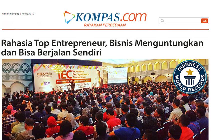 Rahasia Top Entrepreneur, Bisnis Menguntungkan & Bisa Berjalan Sendiri
