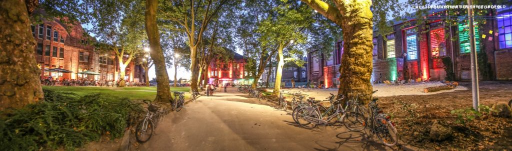Fuerst-Leopold-Platz in the present (CreativQuartier Fuerst Leopold)