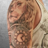 Löwe-Uhr-Cover-up