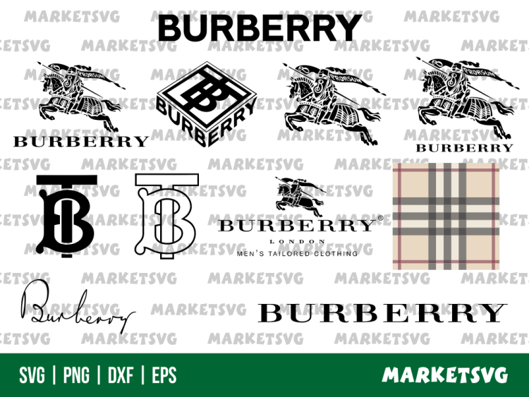 burberry logo svg