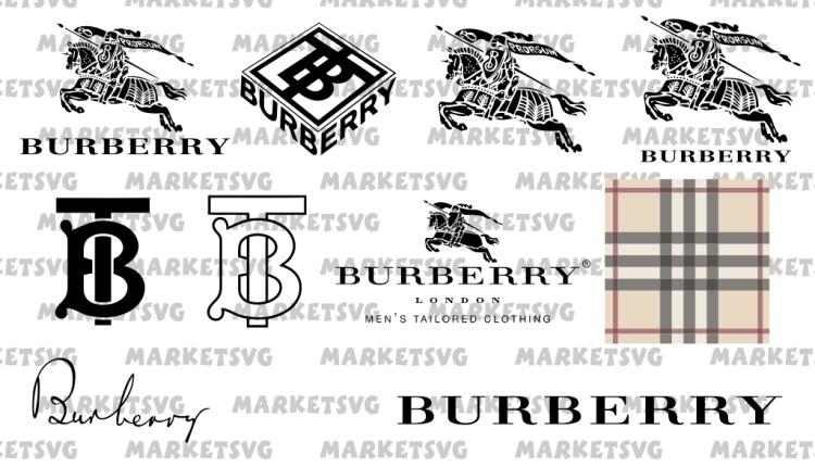 burberry logo svg