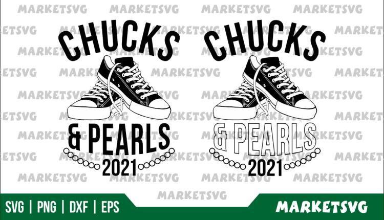 Chucks and Pearls 2021 SVG