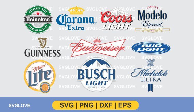 beer brand logo svg bundle