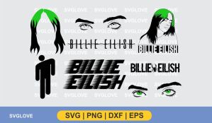 billie eilish svg bundle