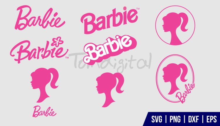 Barbie Silhouette SVG