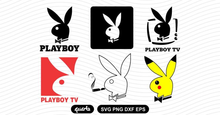 playboy logo svg bundle