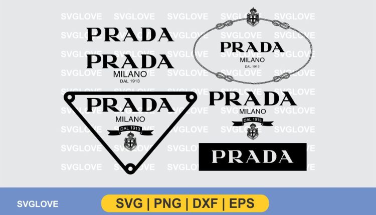 prada logo svg bundle