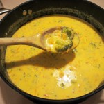 Broccoli Cheese (& Carrot) Soup