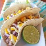Slow Cooker Jamaican Jerk Pork Tacos