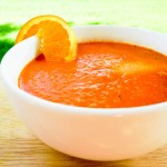 Summertime Tomato and Orange Soup