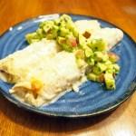 Chicken Enchiladas with Apple-Avocado Salsa