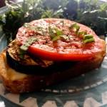 Eggplant Mozzarella Melts