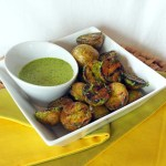 Grilled New Potatoes with Herb Dressing