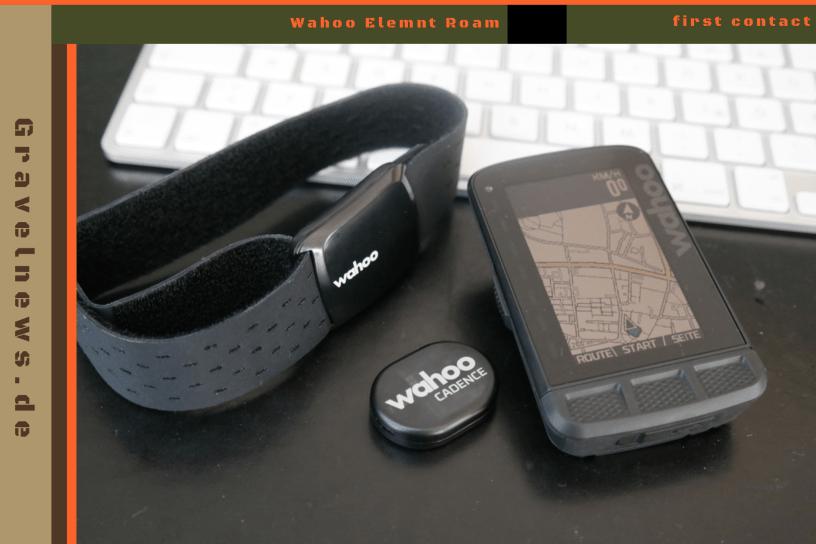 Roam Tickr und Sensor