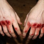 """""""I tried to paint on canvas : fists were paintbrushes & blood was oil."""""""