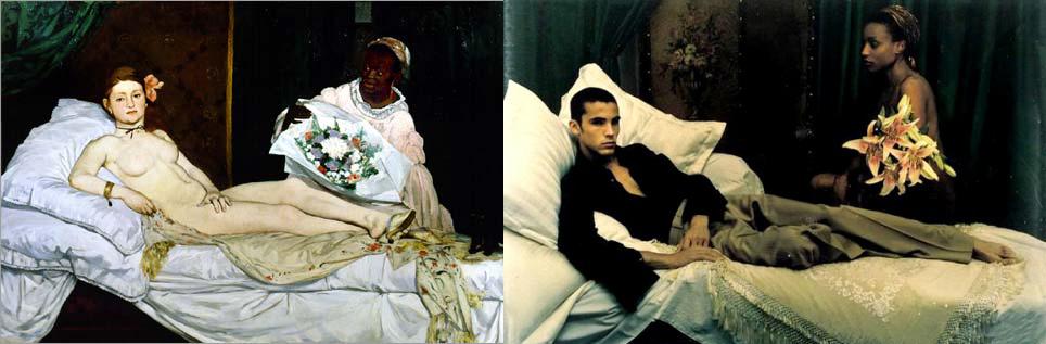 Yves saint laurent s s 1999 campaign photographed by mario for Velasquez venus au miroir